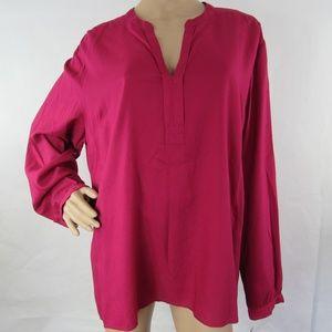Tommy Hilfiger Shirt Blouse Long Sleeve